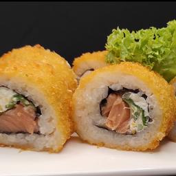 Sake Crunch Roll