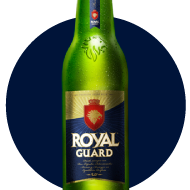 Royal Guard Lager 355cc