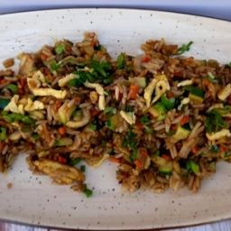 Arroz Chaufa Vegetariano