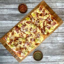 Pizza Mediana Rossa Panceta