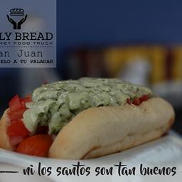 Hot dog St Juan