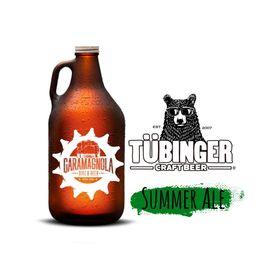 Tubinger Summer Ale + Envase Growler