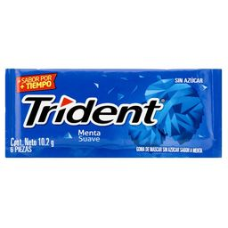 Trident Chicle Menta