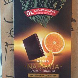 Zero Negro 100grs, Sin Gluten, Sin Azúcar, Vegano