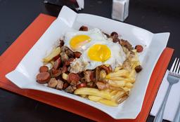 Chorrillana 3 carnes