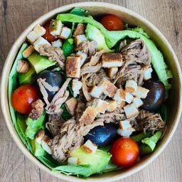 Bowl Ensalada Carne Mechada