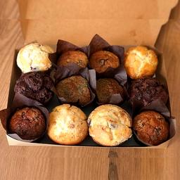 Caja de Muffin Surtidos de 12 Unidades