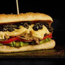 Sandwich Italiano y Papas