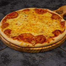 2 Pizza Margarita + 1 Bedida de 1/5 Litros