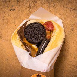 Cheesecake Oreo con Gluten