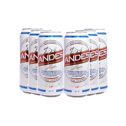 6Pack Andes 500cc