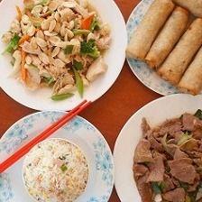 Menú para 2 personas (plato libre)