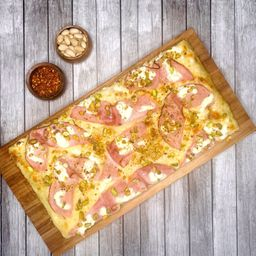 Pizza Mediana Bianca Pistacchio