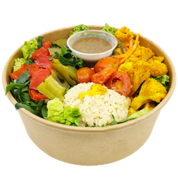 Ensalada Quinoa Vegan