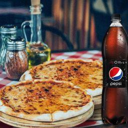 2x Pizzas Tradicional más Pepsi 1.5 L