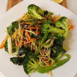 Wok de Verduras y Pastas