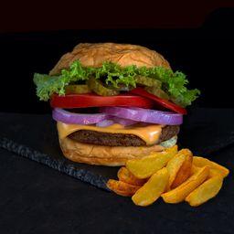 Combo Hamburguesa Vegetariana Classic