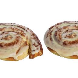 2x cinnamon rolls