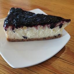 Cheesecake de Arándanos Trozo