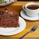 Café Americano + Trozo de Torta