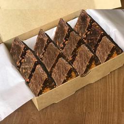 Caja de Toblerones Artesanales Rellenos de Manjar