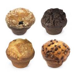 4x muffin surtidos