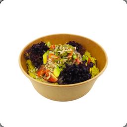 Bowl Hummus Vegano