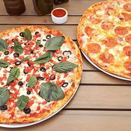 2 Pizzas Malditas Irresistibles Medianas