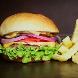 Combo Mix Classic Burger Simple