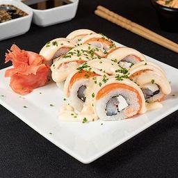 Roll Sake Ebi Acevichado