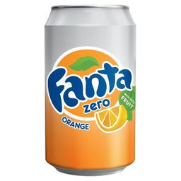 Fanta Naranja Zero 350 ml