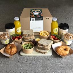 Caja de Desayuno Tradicional para Compartir
