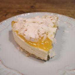 Cheesecake de Mango con Coco