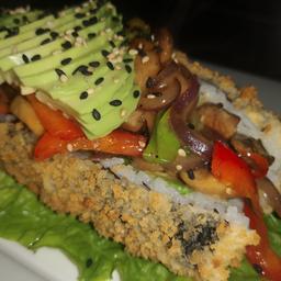 Hot Roll Vegetarian