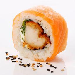 Ebi Tempura Sake Roll