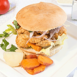Sándwich de Chicharrón de Pollo