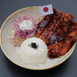 Japanese Chicken Katsu Bowl