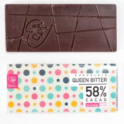 58% Cacao sin Azúcar Vegano Keto