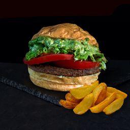 Combo Hamburguesa Vegetariana Italiana