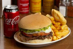 Sándwich + Papas Fritas + Empanadas + Jugo o Bebida