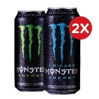 2x Monster 473cc variedades
