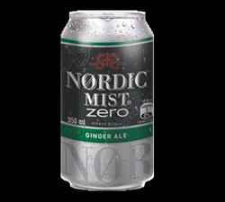 Nordic Mist Ginger Ale Zero Lata 350 ml