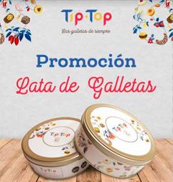 Lata de Galletas (2 Unidades)