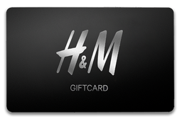 H&M Giftcard $20.000