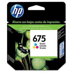 HP 675 Tricolor