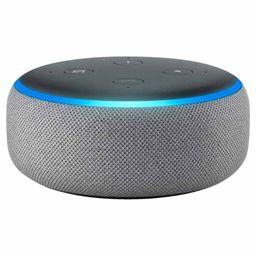 Amazon Alexa Echo Dot 3rd Generation Heather Grey