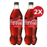 2x Coca Cola 1,5L