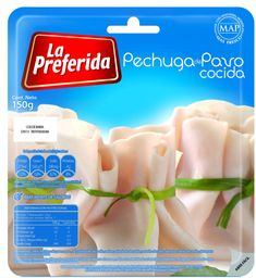 Pechuga de Pavo Cocida La Preferida 150gr