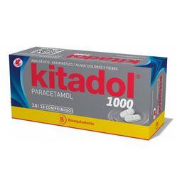 Kitadol 1000 X 18 Comp Bioquivalente