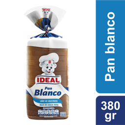 Pan Blanco Ideal 380gr
